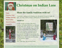Christmas on Indian Lore screen shot